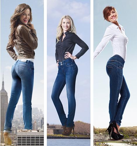 Девушки в джинсах секси