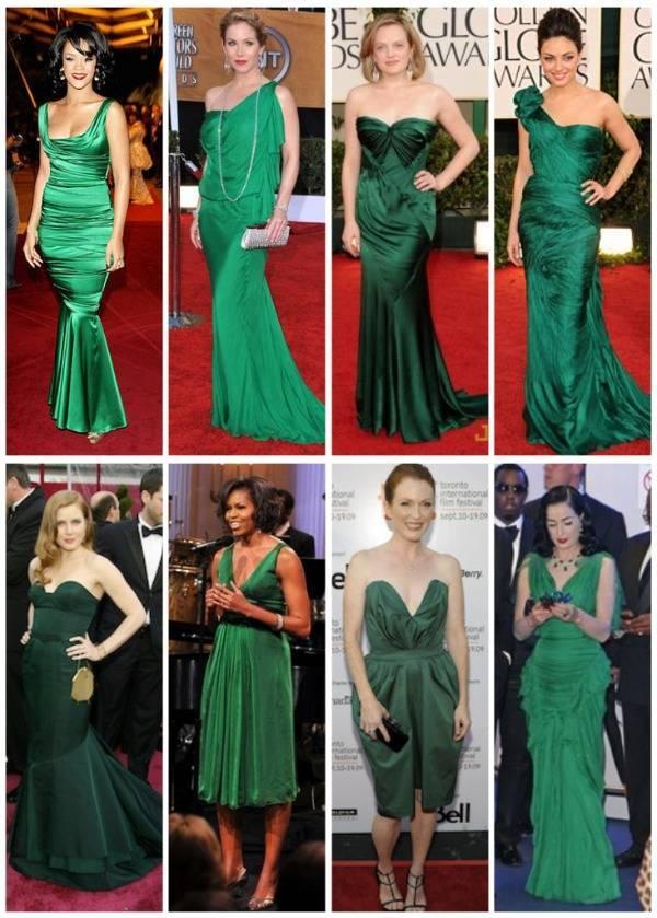 Образ к зеленому платью фото