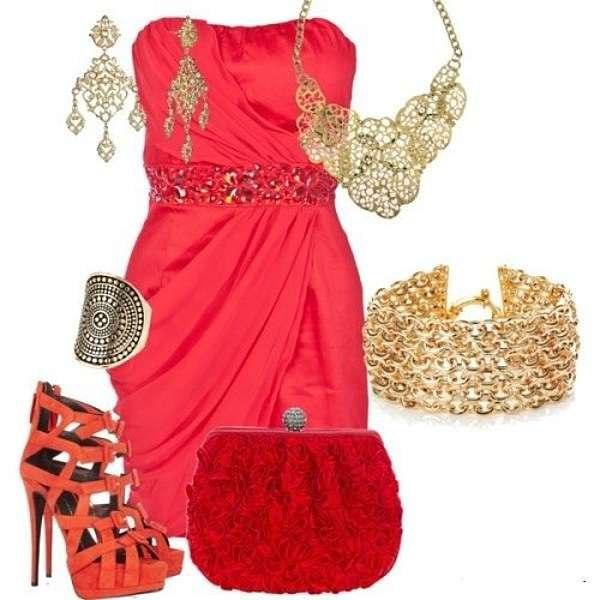 Фото красивые платья и туфли