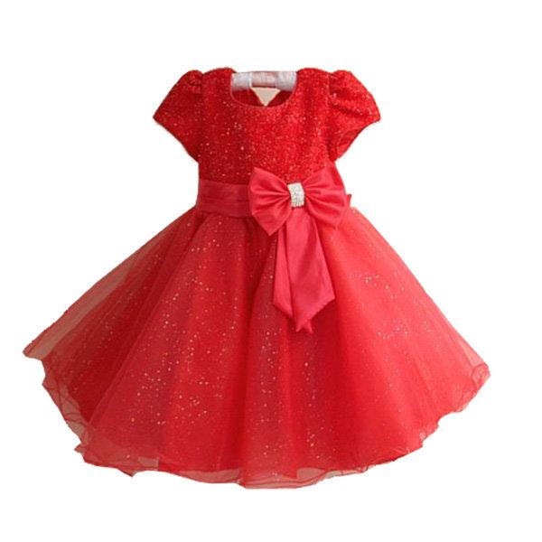 Украшаем вязаное детское платье