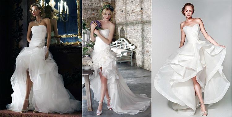 Длина свадебного платья: модели вечерних прямых платьев в пол на