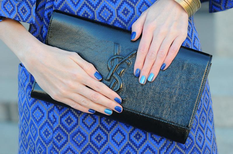 Как подобрать лак для ногтей к платью