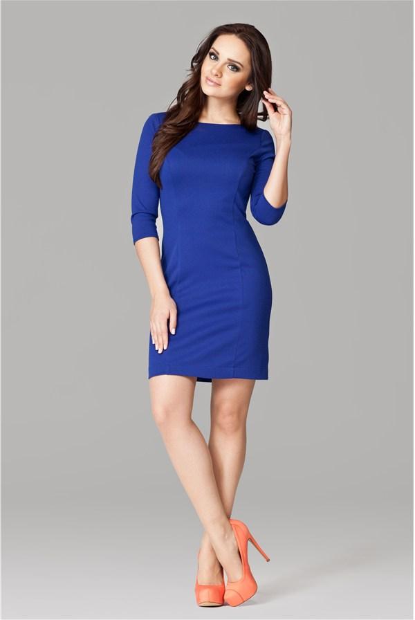 Цвет колготок под синее платье