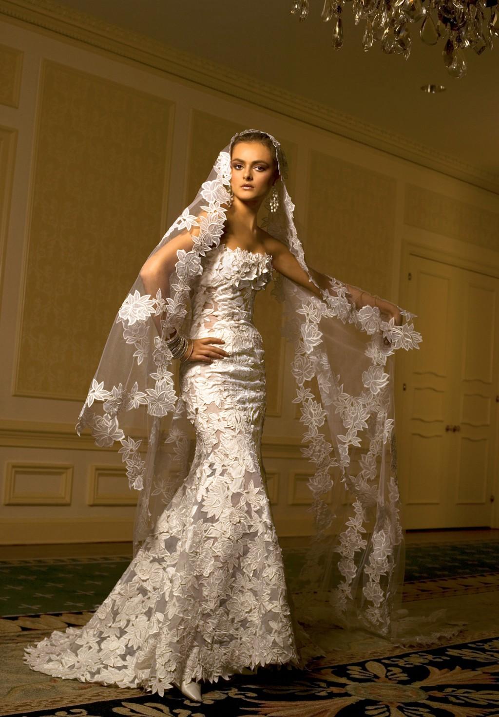 Трахает в свадебном платье 18 фотография
